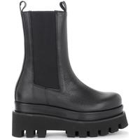 Schuhe Damen Low Boots PALOMA BARCELÓ Stivale Paloma Barcelò Akeita in pelle nera Schwarz