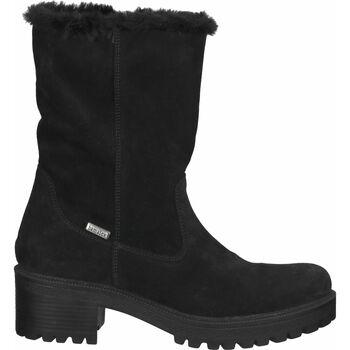Schuhe Damen Schneestiefel Bama Stiefelette Schwarz