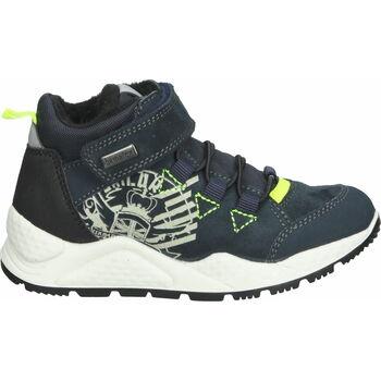 Schuhe Jungen Sneaker High Bama Teens Sneaker Dunkelblau