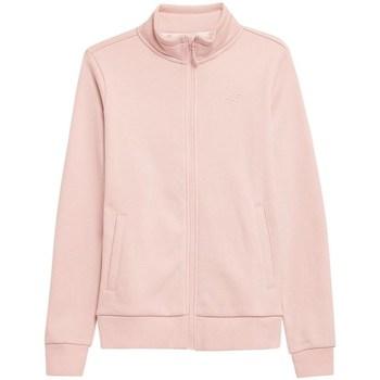 Kleidung Damen Sweatshirts 4F BLD351 Rosa