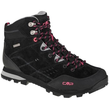 Schuhe Damen Wanderschuhe Cmp Alcor Mid Schwarz