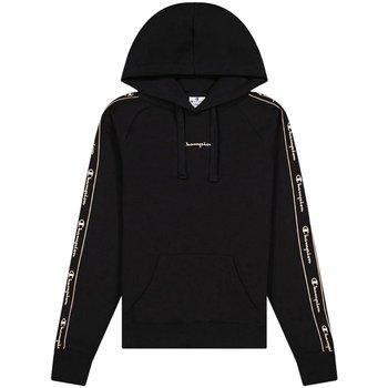 Kleidung Damen Sweatshirts Champion Sport Hooded Sweatshirt 114716F21 KK001 schwarz