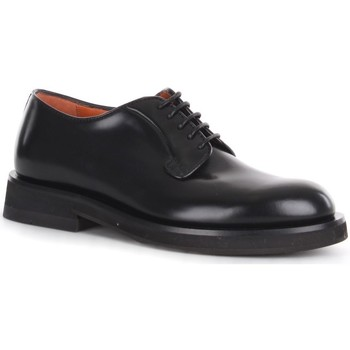 Schuhe Herren Derby-Schuhe Santoni MCCN17774JW2IPWEN01 Schwarz