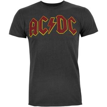 Kleidung Herren T-Shirts Ac/dc  Anthrazit