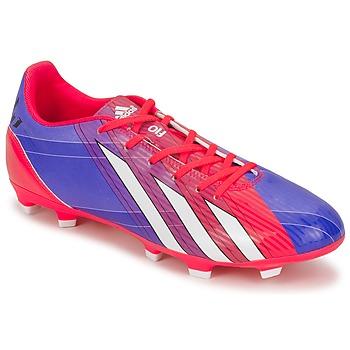 Schuhe Herren Fußballschuhe adidas Performance F10 TRX FG Blau / Weiss / Rot
