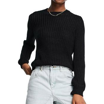 Kleidung Damen Pullover Pieces 17110766 Schwarz