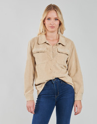 Kleidung Damen Jacken / Blazers Betty London PATISSONE Beige