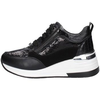 Schuhe Damen Sneaker Low Keys K-5512 SCHWARZ
