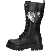 Schuhe Mädchen Klassische Stiefel Asso AG-12666 SCHWARZ