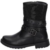 Schuhe Mädchen Low Boots Asso AG-12569 SCHWARZ