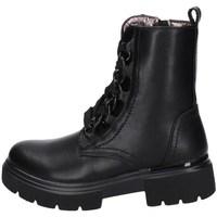 Schuhe Mädchen Boots Asso AG-12591 SCHWARZ