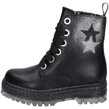 Schuhe Mädchen Boots Asso AG-12535 SCHWARZ