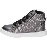 Schuhe Mädchen Sneaker High Asso AG-8554 GUNMETALL