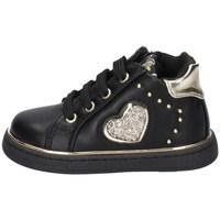 Schuhe Mädchen Sneaker Low Asso AG-12682 SCHWARZ