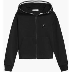 Kleidung Mädchen Sweatshirts Calvin Klein Jeans IG0IG01010 Schwarz