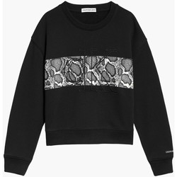 Kleidung Mädchen Sweatshirts Calvin Klein Jeans IG0IG01201 Schwarz