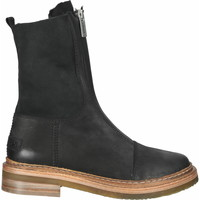 Schuhe Damen Boots Shabbies Amsterdam Stiefelette Schwarz