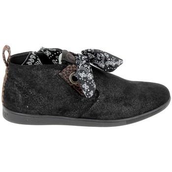 Schuhe Damen Boots Armistice Stone Mid Cut Spacy Noir Schwarz