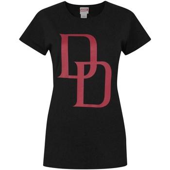 Kleidung Damen T-Shirts Daredevil  Schwarz/Rot