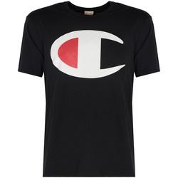 Kleidung Herren T-Shirts Champion  Schwarz