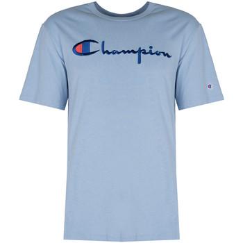 Kleidung Herren T-Shirts Champion  Blau