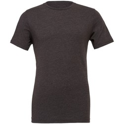 Kleidung T-Shirts Bella + Canvas CVC3001 Dunkelgrau meliert