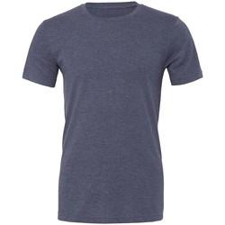 Kleidung T-Shirts Bella + Canvas CVC3001 Marineblau meliert