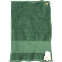 Home Handtuch und Waschlappen Artg Taille unique Dunkelgrün
