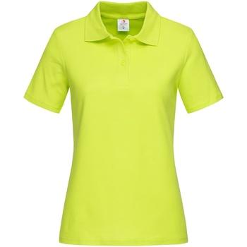 Kleidung Damen T-Shirts & Poloshirts Stedman  Limette