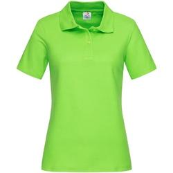 Kleidung Damen T-Shirts & Poloshirts Stedman  Kiwigrün