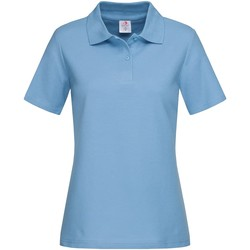 Kleidung Damen T-Shirts & Poloshirts Stedman  Hellblau