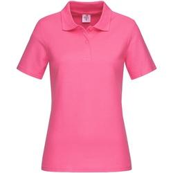 Kleidung Damen T-Shirts & Poloshirts Stedman  Pink