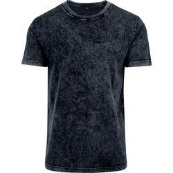 Kleidung Herren T-Shirts Build Your Brand BY070 Dunkelgrau/Weiß