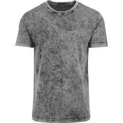 Kleidung Herren T-Shirts Build Your Brand BY070 Grau/Schwarz