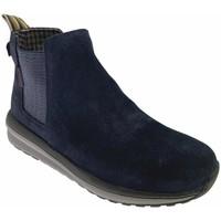 Schuhe Damen Ankle Boots Mephisto MEPHKALOTTAblu blu
