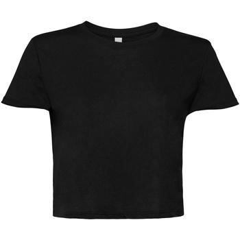 Kleidung Damen T-Shirts Bella + Canvas BE8882 Schwarz