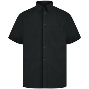 Kleidung Herren Kurzärmelige Hemden Absolute Apparel  Schwarz