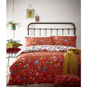 Home Bettbezug Creative Cloth Lit King Size RV1328 Orange
