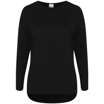 Kleidung Damen Sweatshirts Comfy Co CC065 Schwarz