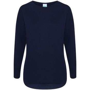 Kleidung Damen Sweatshirts Comfy Co CC065 Marineblau