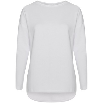 Kleidung Damen Sweatshirts Comfy Co CC065 Weiß