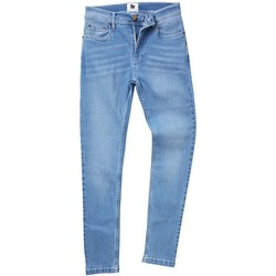 Kleidung Herren Straight Leg Jeans Awdis SD004 Hell Blau gewascht