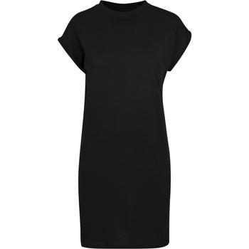 Kleidung Damen Kurze Kleider Build Your Brand BY101 Schwarz