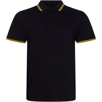 Kleidung Herren Polohemden Awdis JP003 Schwarz/Gelb