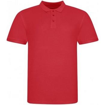Kleidung Herren Polohemden Awdis JP100 Rot