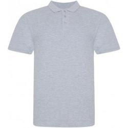 Kleidung Herren Polohemden Awdis JP100 Grau meliert