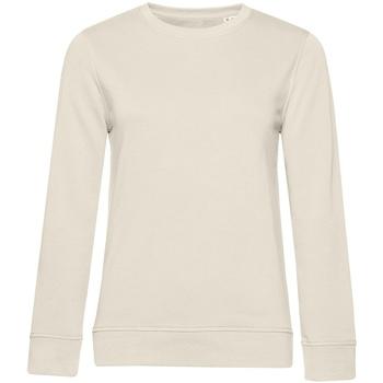 Kleidung Damen Sweatshirts B&c WW32B Naturweiß