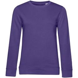 Kleidung Damen Sweatshirts B&c WW32B Kräftiges Violett