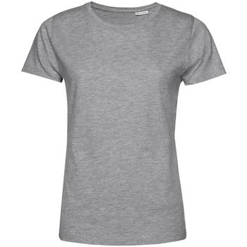 Kleidung Damen T-Shirts B&c TW02B Grau meliert
