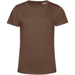 Kleidung Damen T-Shirts B&c TW02B Kaffee